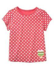 New Gymboree Tea for Two Pink Polka Dot Cake Tee Shirt Top size 4 5 6 7
