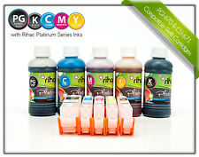 Refillable Ink Cartridges for Canon MG6865 , MG6860, MG5765 - 670 671 cartridges