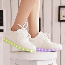 Women Colorful glowing shoes lights up led luminous shoes led shoes for adults