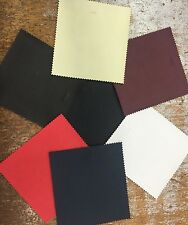 """Faux Leather/Leatherette Upholstery Fabric 54"""" Wide 535gsm Superior Quality"""