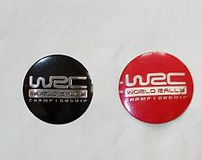 WRC 56mm Wheel Center Hub Cap Caps Hubcap Emblem Sticker Decal Badge