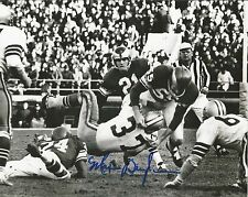 "Maxie Baughan Philadelphia Eagles Autographed Signed 8"" x 10"" Photo JSA PSA Pass"