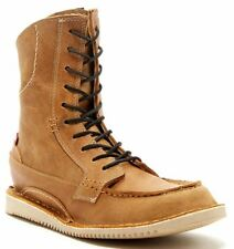 NWB Oliberte Tompa Footwear Lace up Boot Camel Color Leather Size 11 US FR  SHIP