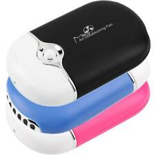 Cooling Fan Portable Mini Cooler Handheld Air Conditioning USB Rechargeable Hot