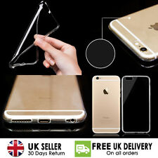 Ultra Thin Slim Clear Transparent Soft TPU Jelly Cover Case For iPhone 4,5,6,7