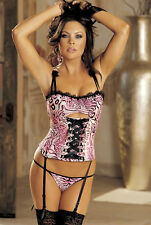 Shirley Of Hollywood 29038 Underwear Ladies Sexy Lingerie Bustier Basque Corset
