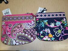 Vera Bradley Little Flap Hipster Crossbody-Very Berry Paisley or Ribbons--NEW