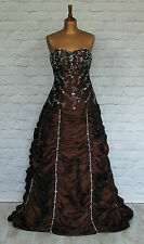 New Womens Vintage Victorian Style Dress Prom Evening Pageant Ball Gown UK 8