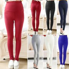 Top Woman Thick Warm Maternity Cotton Leggings Pregnancy Clothes All Size CO99
