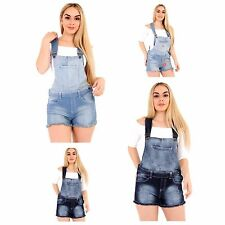 Womens and girls Denim Jeans Dungaree lot Short Drs Jumpsuit Playsuit 8 10 12 16