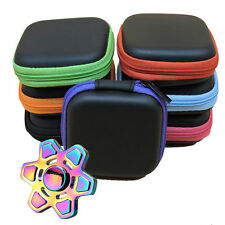Mini Portable Earphone Bag Coin Purse Headphone Case Cable Zipper Storage Box