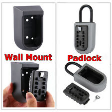 Outdoor Combination Hide Key Cabinet Safe Security Lock Box Storage Wall Mounted