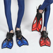 Summer Scuba Diving Swimming Fins Snorkeling Freediving Open Heel Flippers Shoes
