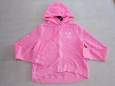 Hollister by Abercrombie Spring Hammerland Pink Hoodie Women Sz M/L - NWT $40