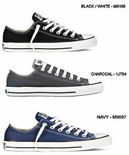 *NEW - CONVERSE ALL STAR CHUCK TAYLOR OX LOW CLASSIC CANVAS SHOES - ALL SIZES