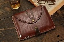 BOOK Luxury Leather BOOK 360 Rotating Stand Case Cover For iPad 2 3 4/ iPad mini