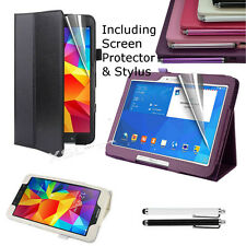 Smart Case Cover + Screen Protector & Stylus for All Samsung Galaxy Tabs Tablets