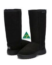 Hiking Tall Outdoor Sole Ugg Boots Australian Made Size 6 / 7 - STOCK CLEARANCE