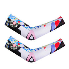 1 Pair Outdoor Cycling Arm Sleeves for Cycling Basketball Football Running Sport