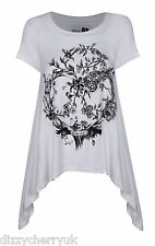 Day 22 by Katie Price Floral Heart T-Shirt - White