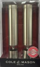 New Cole & Mason Chiswick Electronic Mini Salt & Pepper Spice Grind Mill RRP £40