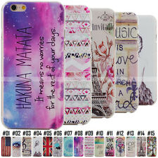 For Apple iPhone 4S 5S 6S Plus Cute Cartoon Protect Hard PC Case Cover Back Skin