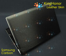 New KH Laptop carbon Crocodile leather skin cover Protector For Samsung 370E4J