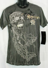 """Remetee T-Shirt Short Sleeve """"DRIFTWOOD"""" SKIVE Series  S-Small"""