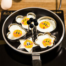Creative Stainless Steel Omelette Mould Device Love Surprise Egg Ring Model sdfv