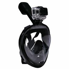 Full Face Diving Mask Snorkel Scuba Swimming Goggles Under Water For GoPro Hero
