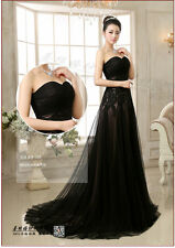 2016 Black Quinceanera Dress Formal Prom Party Pageant Ball Dresses Bridal Gowns