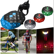 Bike New Rear Tail Flashing Bicycle 5 LED+ 2 Laser Warning Lamp Light Safety