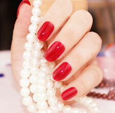 False Hot 24 Pcs Full Fashion Nail Tips New Nails Designer Acrylic French Style
