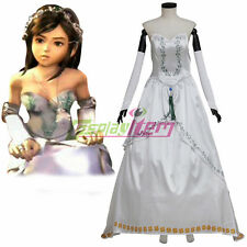 Final Fantasy IX Cosplay Garnet Princess Bride Gown Adult Cosplay Costume Women