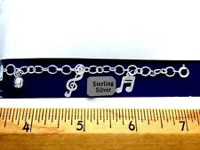 Anklet & Bracelet Sterling Silver Collection  .925 Pure Silver