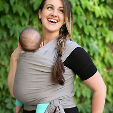 Baby Wrap Sling Stretchy  100% Cotton Baby Carrier Newborn Breastfeeding Wrap