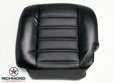 2005 Hummer H2 SUT Truck Heated Seats -Driver Bottom Leather Seat Cover Black