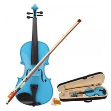 4/4 Acoustic Violin with Case Bow Rosin Music for Concert Party Beginner Trainer