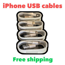 Premium iPhone Lightning USB Charger & Data Sync Cable Cord for Apple IOS 9 lot