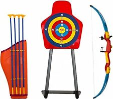 Giant Bow & Arrow Archery Set for Kids and Target Outdoor Garden Fun Game