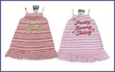 Girls Funky Diva summer casual stripey dress BNWT 2-6 years