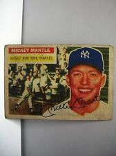 1956 TOPPS #135 MICKEY MANTLE  VERY COLLECTBLE (REPRINT  CARD)