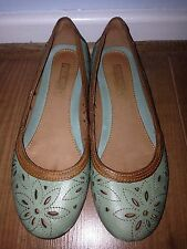 Pikolinos Turquoise Ballet Shoes / Flats. Size 4 (37).  Hardly Worn.