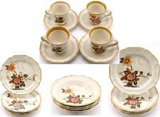 Mikasa Garden Club Imperial Garden Vintage Dishes Cups Saucers Plates Bowls x4