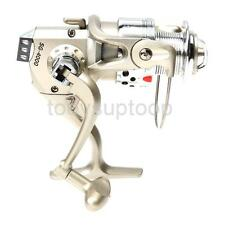 6BB High Power Gear Spinning Spools Fishing Reel SG4000 White/Champagne/Black