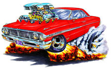 1964 Ford Galaxie Muscle Car Art Print NEW