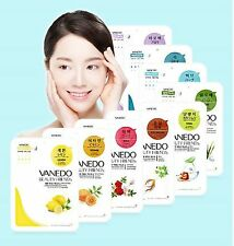 25 types 7 Pcs [VANEDO] Korea Cosmetic Facial Essence Mask Pack sheets,skin care