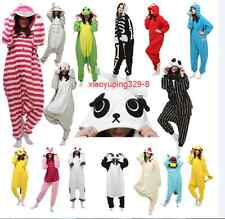 Hot New Unisex Adult Costume Pajamas.. Kigurumi Animal Cosplay Onesie Sleepwear