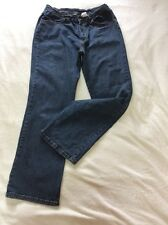 Marks M&S Stretch Full Waist Comfort Fit Jeans Size 14 Straight Leg