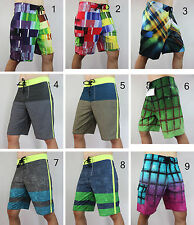 NEW 4way STRETCH mens QUICK DRY board shorts swimwear boardshorts swim beachwear